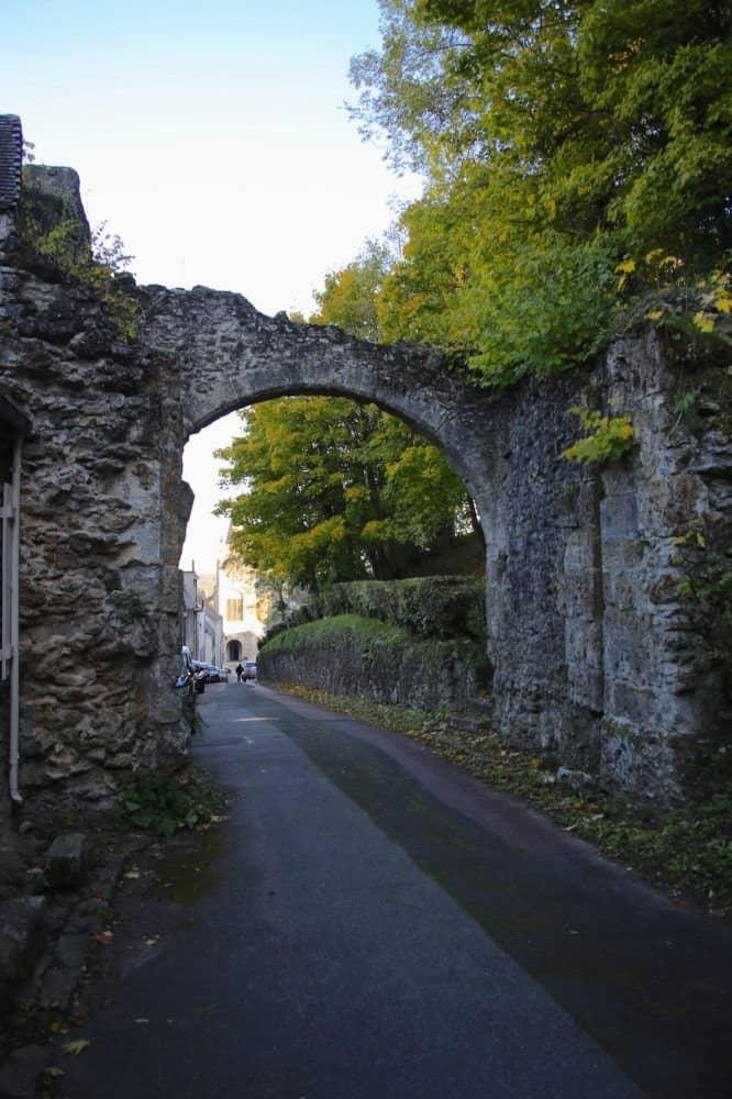 Les remparts de Montfort l'Amaury