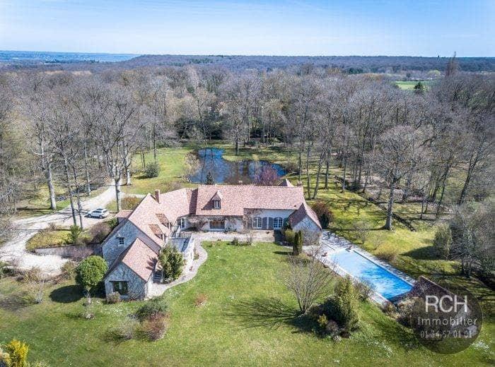 Photos du bien : Grosrouvre – Magnifique propriété sur un parc d'environ 1,9 hectares