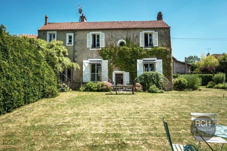 Photos du bien : La Queue Lez Yvelines – Charmante maison ancienne entièrement restaurée