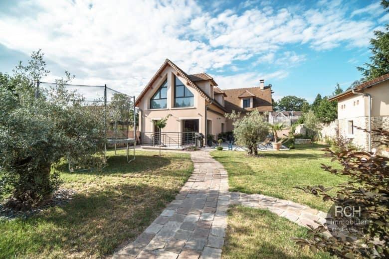 Photos du bien : Montfort L'Amaury – Très belle maison contemporaine de 2012
