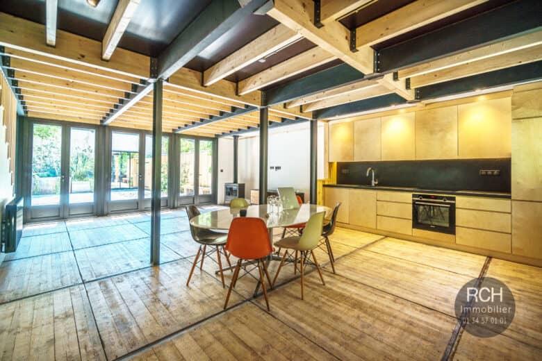 Photos du bien : Exclusivité / Grosrouvre – Magnifique loft rénové