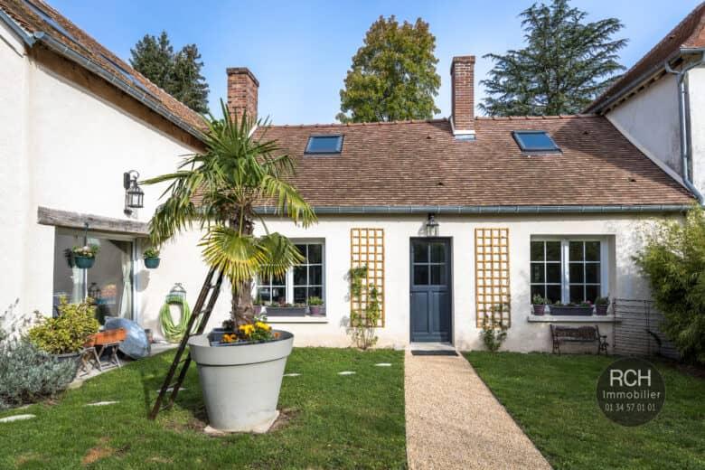 Photos du bien : Condé sur Vesgre – Charmante maison ancienne entièrement rénovée