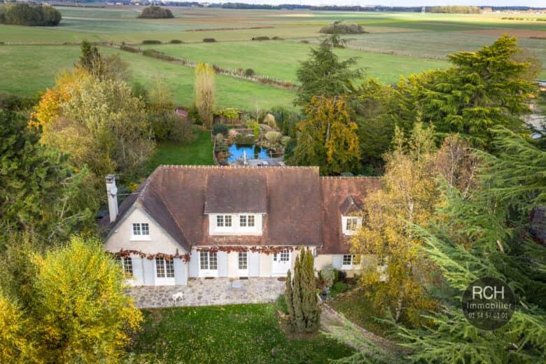 Photos du bien : Le Mesnil-Simon – Belle maison au calme
