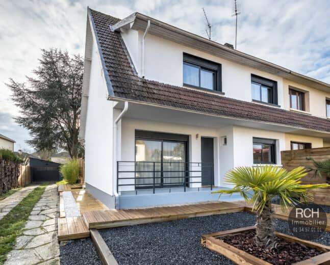 Photos du bien : EXCLUSIVITE – Montfort L'Amaury – Maison entièrement restaurée