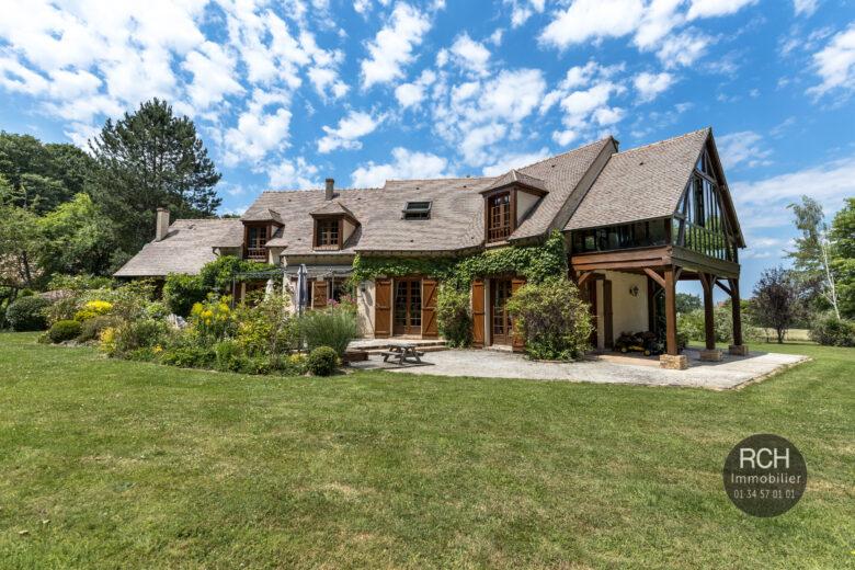 Photos du bien : Montfort-l'Amaury – Charmante maison dans environnement exceptionnel