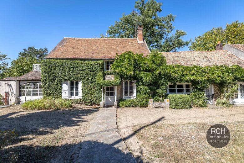 Photos du bien : Grosrouvre – Belle maison ancienne à restaurer