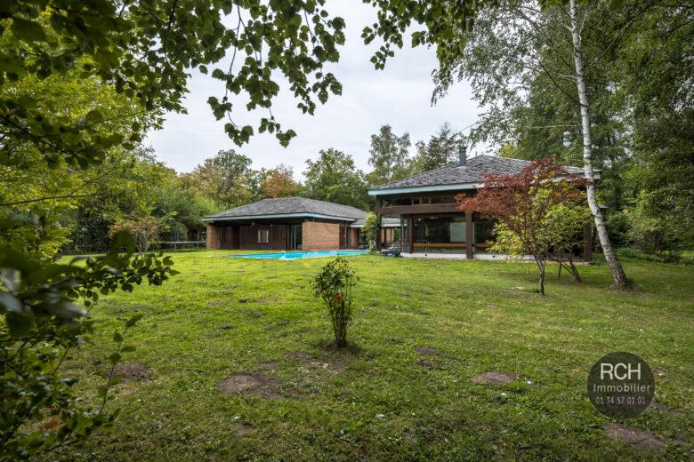 Photos du bien : Condé-Sur-Vesgre – Maison d'architecte de plain pied