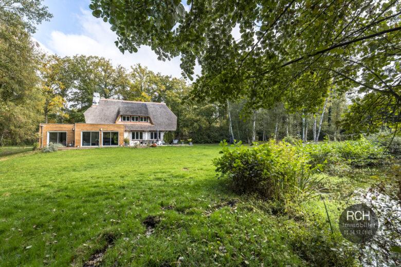 Photos du bien : Exclusivité – Adainville – Charmante maison entièrement restaurée dans un environnement exceptionnel