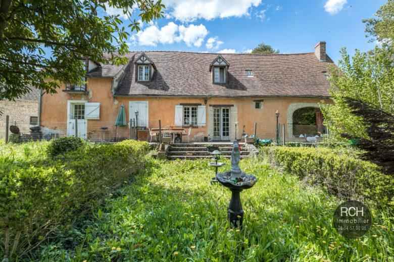 Photos du bien : Berchères-sur-Vesgre – Charmante maison ancienne