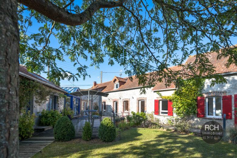 Photos du bien : Marville-Moutier-Brûlé – Charmante maison ancienne rénovée